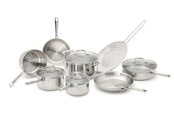 Emeril By All Clad Tri Ply 12 Pc Stainless Cookware Set