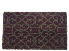Coir Mat Lila Purple/Grey