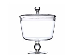 "Luigi Bormioli 8.5"" Trifle Bowl with Lid"