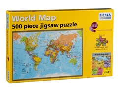 500 Piece World Puzzle