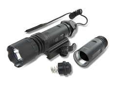 UTG Tactical Flashlight with QD Mount