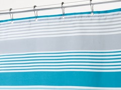 Interdesign Hampton Stripe Shower Curtain