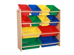 Toy Organizing Shelf w/ 12 Bins