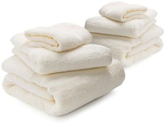 Microcotton 6-Piece Towel Set - Cameo
