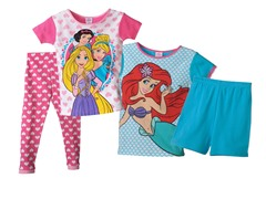 Princesses 4-Piece Set (4-8)