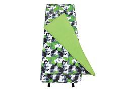 Green Camo Nap Mat