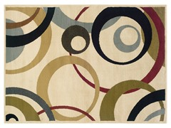 Greyson Circles Rug  (Multiple Sizes)