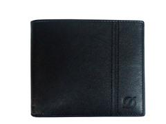 ST Dupont Leather Wallet Billfold, Black