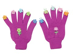 Butterfly Knit Gloves (SM-LG)