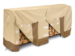 Log Rack Cover, 96 by 24 by 42-Inch