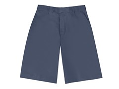 Boys Flat Front Short - Dark Navy (Sizes 4-16)
