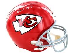 Len Dawson Chiefs Replica Helmet w/ HOF
