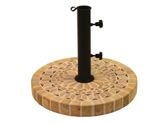 Sandstone/Matte Stone Umbrella Base