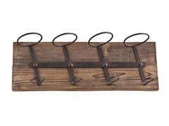 Saxon Wall Mount Wine Storage