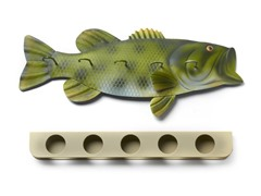 Fishing Rod Rack - Bass