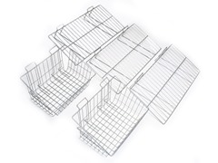 16-Inch Track Shelf & Basket Kit