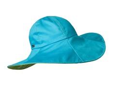 Collins Ave Floppy Brim Sun Hat, Turq