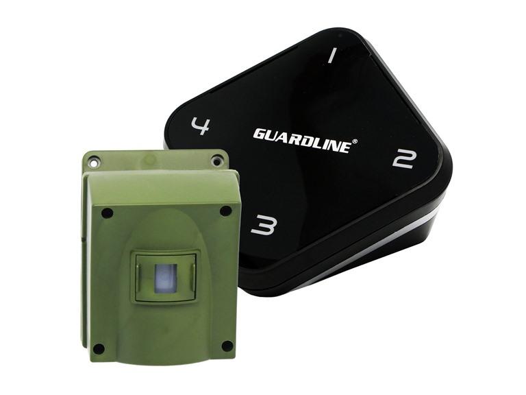 Guardline 1/4-Mile Long Range Wireless Driveway Alarm