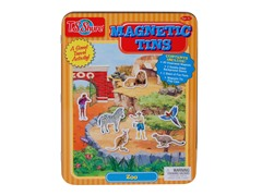 Zoo Magnetic Tin Set
