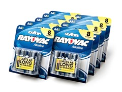 Rayovac AA Alkaline Batteries - 72 Pack
