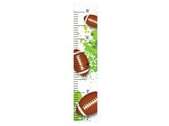 Peel & Stick Growth Chart - Football