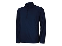 Climaproof Wind Half Zip Jacket - Navy