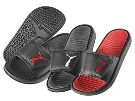 PUMA Boys Slide Sandals (11-4), 3 Colors