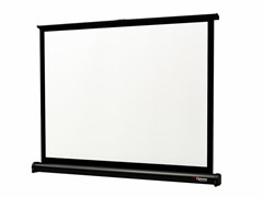 "32"" Matte White Mini Pull-Up Projection Screen"