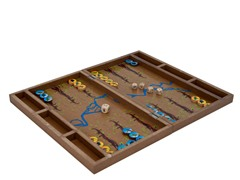 WWF Zoo Birds Backgammon Set