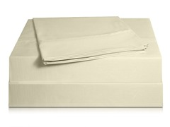 810TC Pima Sateen Sheet Set-Ivory-3 Sizes