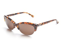 Tortoise Sunglasses w/ Brown Lens