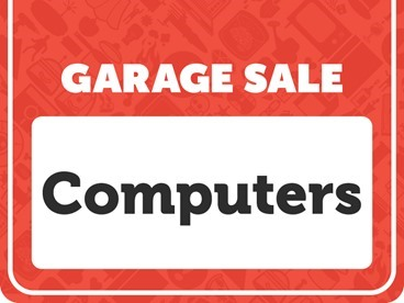 Computers Garage Sale