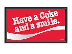 Have a Coke® and a Smile Mirror