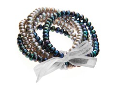 Freshwater Pearl 6-Piece Bracelet Set