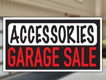 Accessories Garage Sale