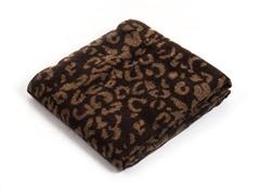 Jacquard Blanket Throw - Gold