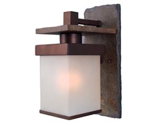 Rockledge Medium Wall Lantern, Natural Slate