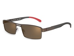 T103 Polarized Sunglasses, Brown