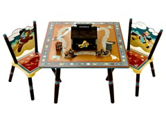 Wild West Table Set