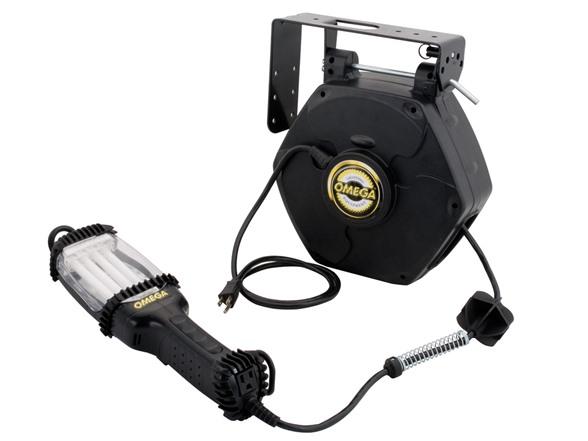 50 Foot Retractable 26 Watt Work Light
