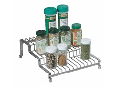 InterDesign York Lyra Silver Spice Rack