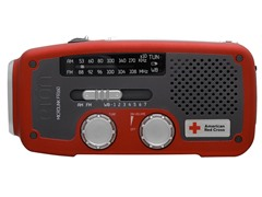 Solar AM/FM/Weather Band Radio