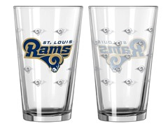 Rams Pint Glass 2-Pack