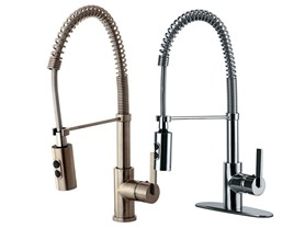 Kingston Brass Pull Down Kitchen Faucets
