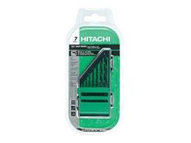 Hitachi 7-Piece Black Gold Drill Bit Set