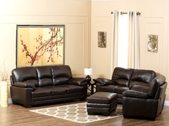 Lauretta Leather 4-Pc Set