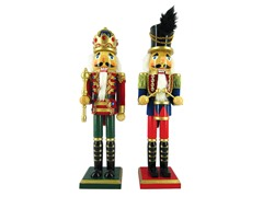 "15"" Royal King & Drummer Set of 2"