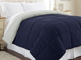 Down Alternative Reversible Comforter-3 Sizes