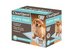 ClearQuest Puppy Pads 100-Count