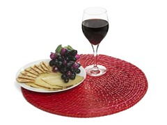 "Core Bamboo 15"" Placemat-Cherry Set of 4"